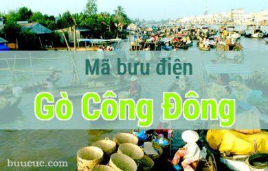 Mã bưu điện Gò Công Đông, Tiền Giang