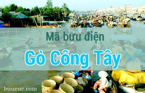 Mã bưu điện Gò Công Tây, Tiền Giang