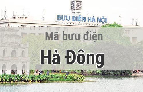 Mã bưu điện Hà Đông, Hà Nội