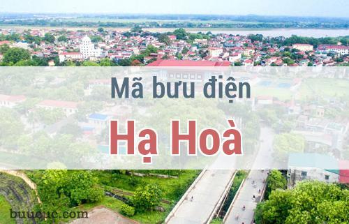 Mã bưu điện Hạ Hoà, Phú Thọ