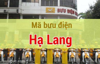 Mã bưu điện Hạ Lang, Cao Bằng