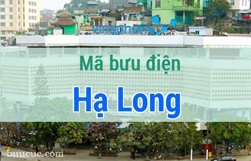 Mã bưu điện Hạ Long, Quảng Ninh