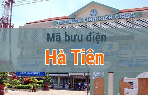 Mã bưu điện Hà Tiên, Kiên Giang