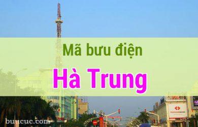 Mã bưu điện Hà Trung, Thanh Hoá