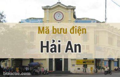 Mã bưu điện Hải An, Hải Phòng