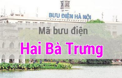Mã bưu điện Hai Bà Trưng, Hà Nội
