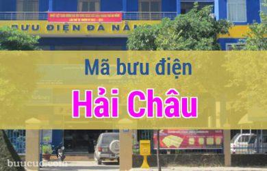 Mã bưu điện Hải Châu, Đà Nẵng