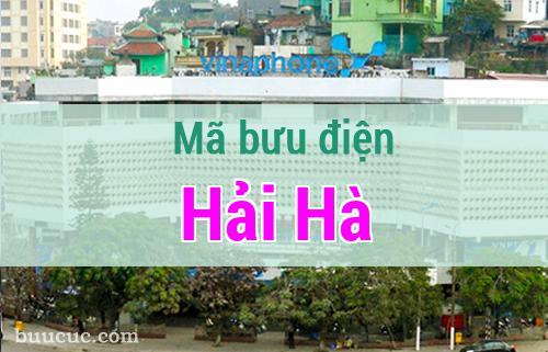 Mã bưu điện Hải Hà, Quảng Ninh
