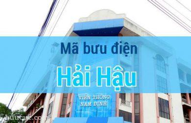 Mã bưu điện Hải Hậu, Nam Định