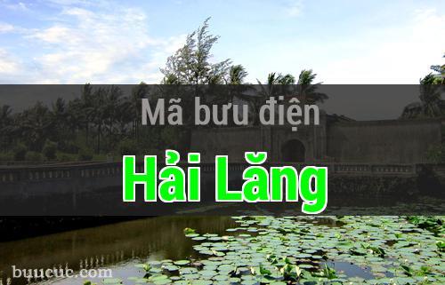 Mã bưu điện Hải Lăng, Quảng Trị