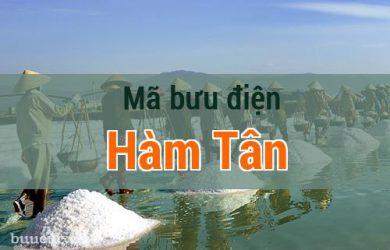 Mã bưu điện Hàm Tân, Bình Thuận