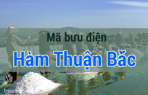Mã bưu điện Hàm Thuận Bắc, Bình Thuận
