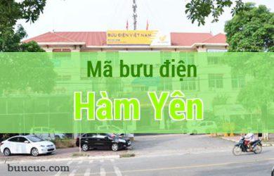 Mã bưu điện Hàm Yên, Tuyên Quang