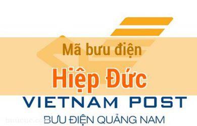 Mã bưu điện Hiệp Đức, Quảng Nam