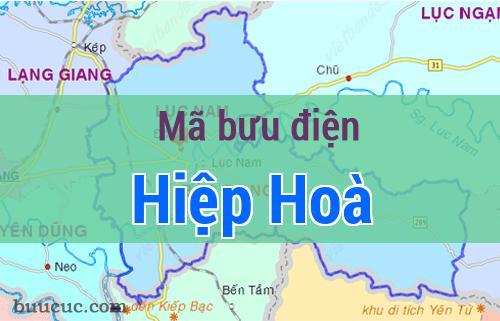 Mã bưu điện Hiệp Hoà, Bắc Giang