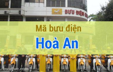 Mã bưu điện Hoà An, Cao Bằng