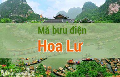 Mã bưu điện Hoa Lư, Ninh Bình