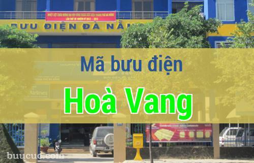 Mã bưu điện Hoà Vang, Đà Nẵng