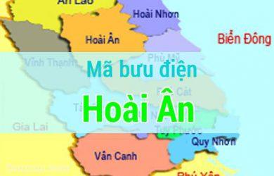 Mã bưu điện Hoài Ân, Bình Định
