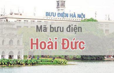 Mã bưu điện Hoài Đức, Hà Nội