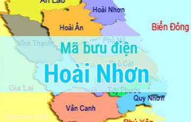 Mã bưu điện Hoài Nhơn, Bình Định
