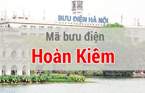 Mã bưu điện Hoàn Kiếm, Hà Nội