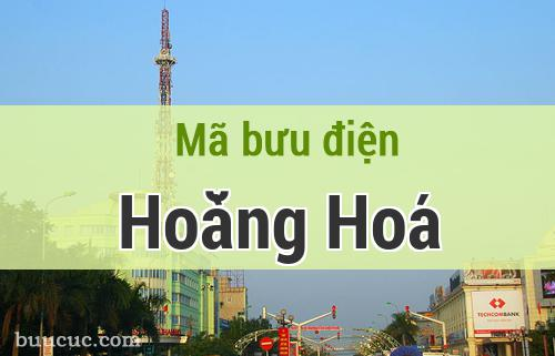 Mã bưu điện Hoằng Hoá, Thanh Hoá
