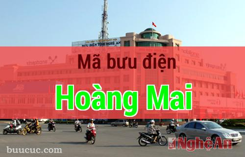 Mã bưu điện Hoàng Mai, Nghệ An