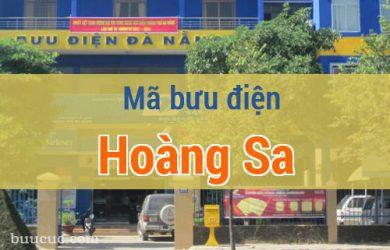 Mã bưu điện Hoàng Sa, Đà Nẵng