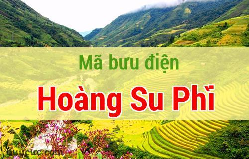 Mã bưu điện Hoàng Su Phì, Hà Giang