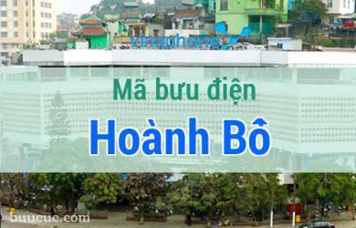 Mã bưu điện Hoành Bồ, Quảng Ninh