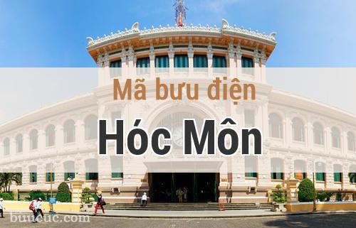 Mã bưu điện Hóc Môn, Hồ Chí Minh
