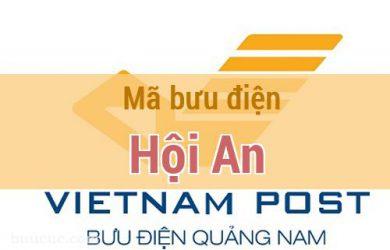 Mã bưu điện Hội An, Quảng Nam