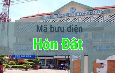 Mã bưu điện Hòn Đất, Kiên Giang