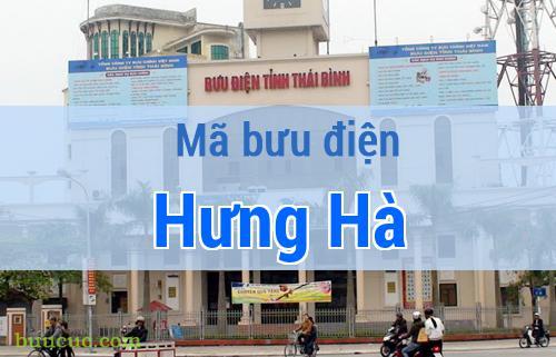 Mã bưu điện Hưng Hà, Thái Bình