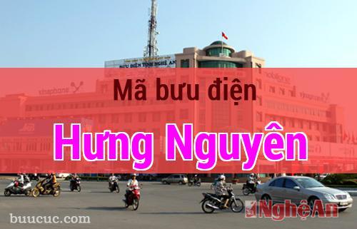 Mã bưu điện Hưng Nguyên, Nghệ An