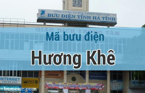 Mã bưu điện Hương Khê, Hà Tĩnh