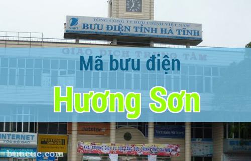 Mã bưu điện Hương Sơn, Hà Tĩnh