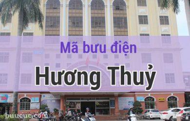 Mã bưu điện Hương Thuỷ, Thừa Thiên Huế