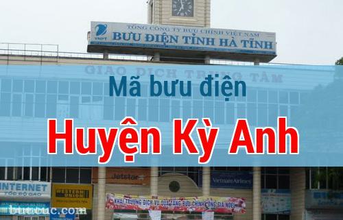 Mã bưu điện Huyện Kỳ Anh, Hà Tĩnh
