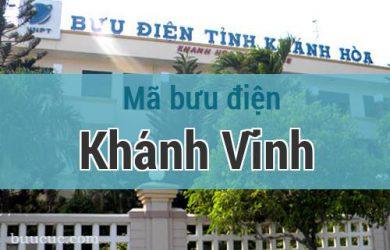 Mã bưu điện Khánh Vĩnh, Khánh Hoà