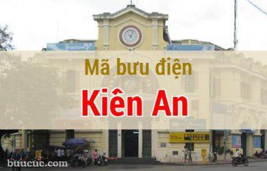Mã bưu điện Kiến An, Hải Phòng