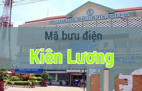 Mã bưu điện Kiên Lương, Kiên Giang