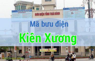 Mã bưu điện Kiến Xương, Thái Bình
