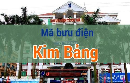 Mã bưu điện Kim Bảng, Hà Nam