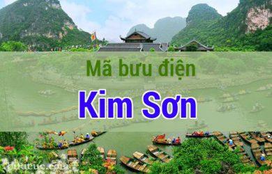 Mã bưu điện Kim Sơn, Ninh Bình