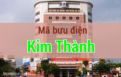 Mã bưu điện Kim Thành, Hải Dương