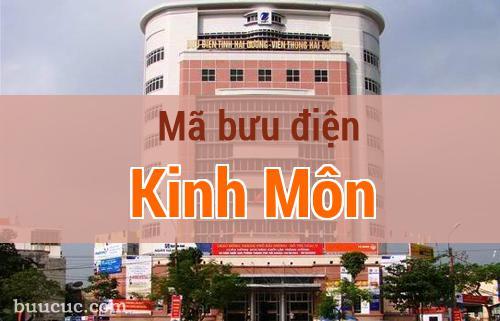 Mã bưu điện Kinh Môn, Hải Dương
