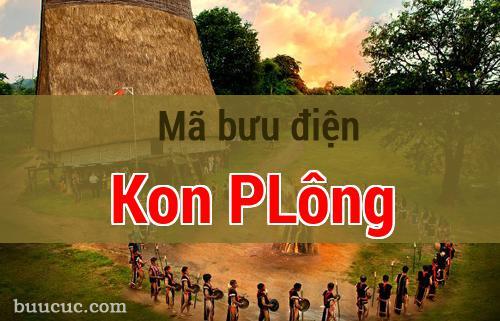 Mã bưu điện Kon PLông, Kon Tum