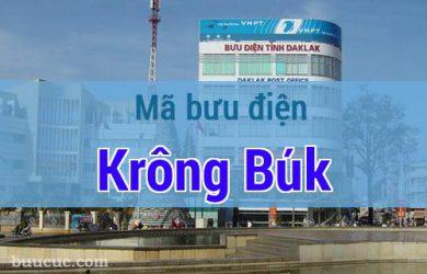 Mã bưu điện Krông Búk, Đắk Lăk